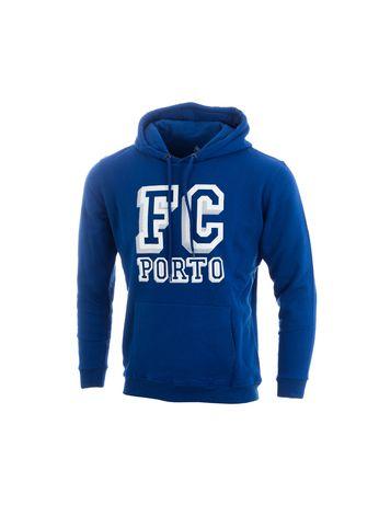 Sweat Adulto Azul Capuz FC Porto