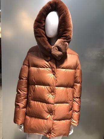 Курткв пуховик Yves Salomon , оригинал, новая , размер s