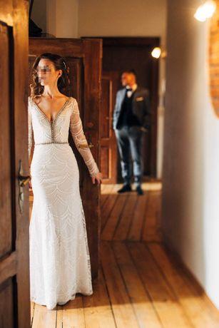 Suknia ślubna Amy Love Ola - inspiracja Berta Bridal 15-107