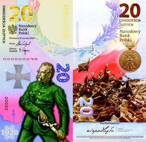 Bitwa Warszawska 1920 - numizmat 20 zł