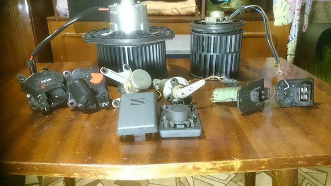 Моторедуктор и моторчики печки ваз 2110,датч.темп.салона,резистор