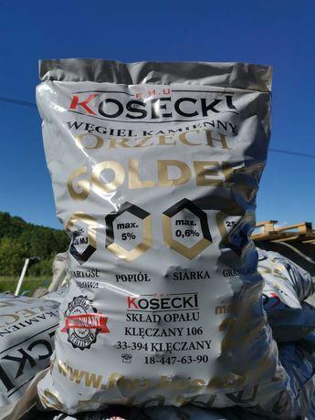 Węgiel Orzech GOLDEN workowany 25 kg - spala się do końca