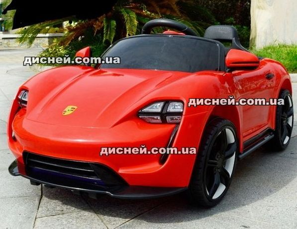 Детский электромобиль T-1718 RED, Дитячий електромобiль