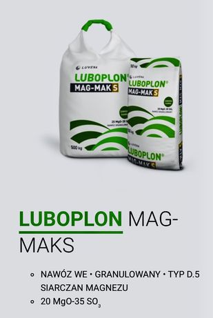 Luboplon Mag-Maks siarczan magnezu granulowany kizeryt