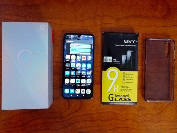 Xiaomi Mi 9 6GB/64GB GLOBAL C/Caixa + Capa Nilkin + Vidro Temperado