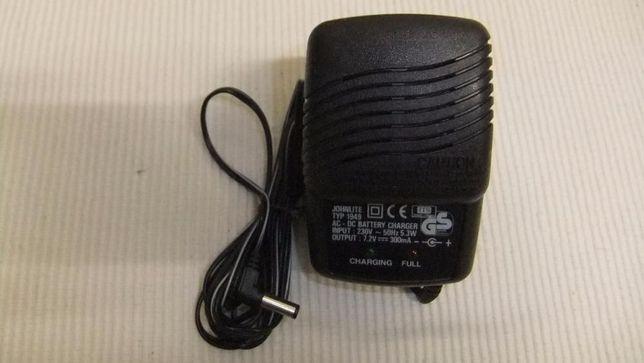 Carregador de bateria com indicador de carga