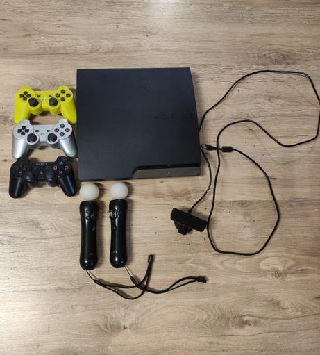 ПРОДАМ приставку PS 3 прошитая полный комплект