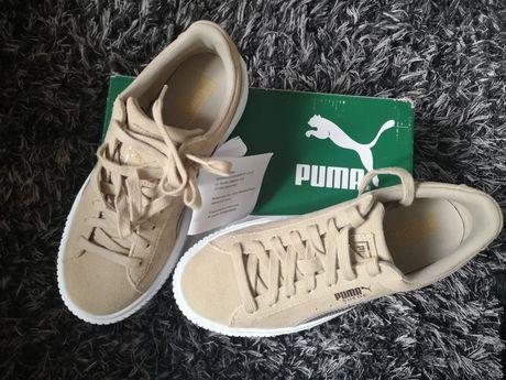 Nieużywane z metką i pudełkiem buty Puma