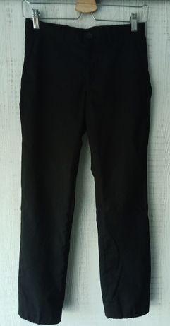Spodnie eleganckie Cubus dla chłopca czarne r. 146