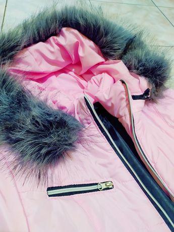 Женская детская куртка S-M