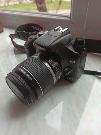 Фотоаппарат Canon EOS 450D 18-55 + Вспышка