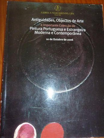 antiguidades e objectos de arte pintura portuguesa e estrangeira