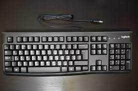 Проводные клавиатура Logitech K120 и мышь 4TECH N 708X