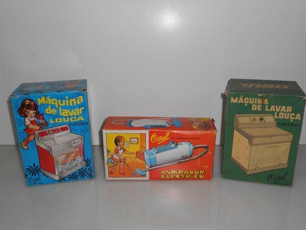 brinquedos antigos da osul máquina de lavar - aspirador
