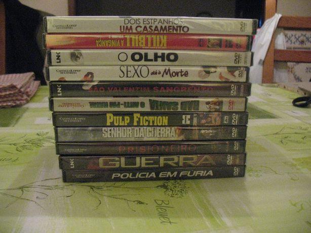 Varios filmes originais muitos ainda selados