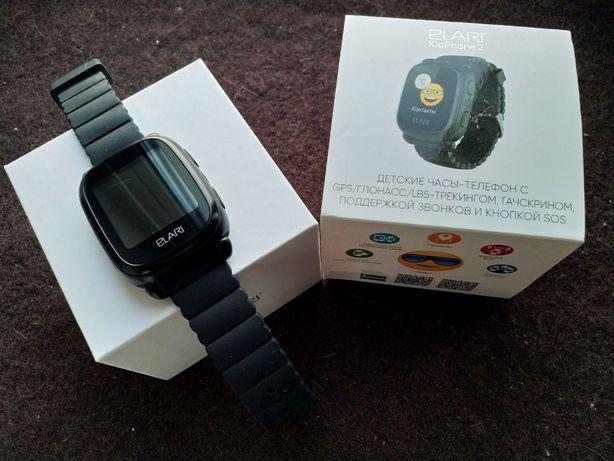 Elari KidPhone 2 часы-телефон GPS трекер смарт-часы детские