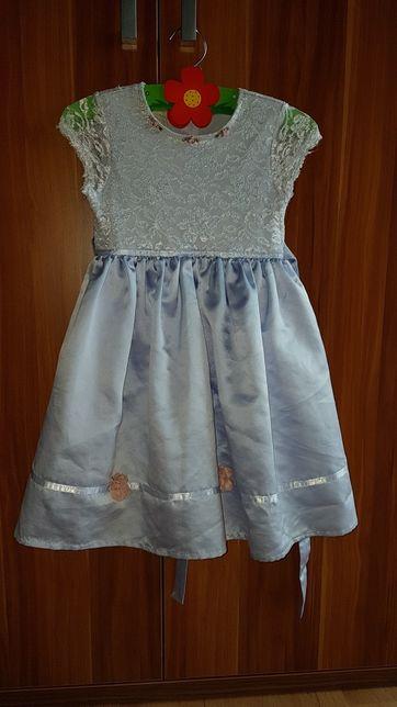Sukienka 116 fioletowa