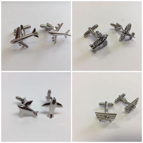 Botões de punho avião