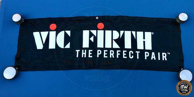 Vic Firth - banner perkusyjny z logo 43 x 132 cm