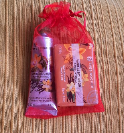 Sabonete e Creme Ives Rocher - Baunilha