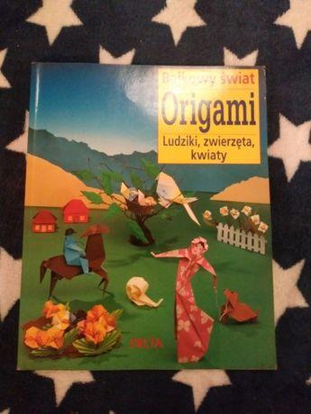 Ksiażka kreatywna. Origami - bajkowy świat. Ludziki, zwierzęta, kwiaty