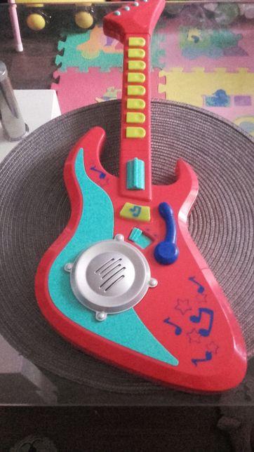 Gitara grająca dziecięca