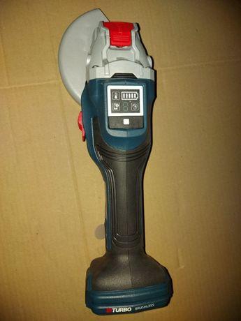 Аккумуляторная болгарка Bosch GWS 18-125/GWX/GWS 18V-15 SC/GWS 12V-76