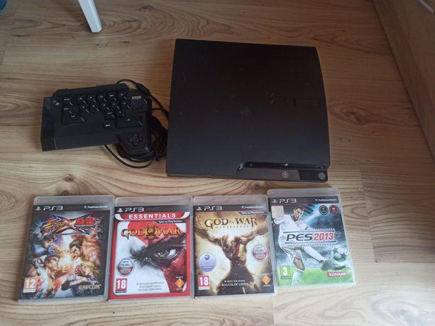 PlayStation 3 Sprawne, klawiatura i gry