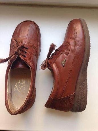 Naturläufer жіночі шкіряні туфлі,черевички/ Женские кожа туфли ботинки