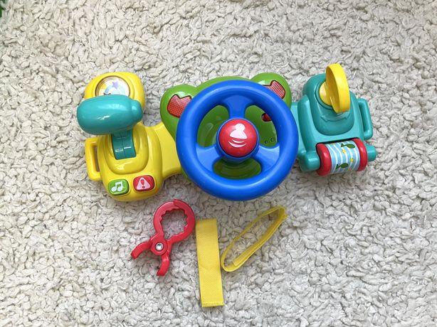 Детский руль, игрушка авто руль