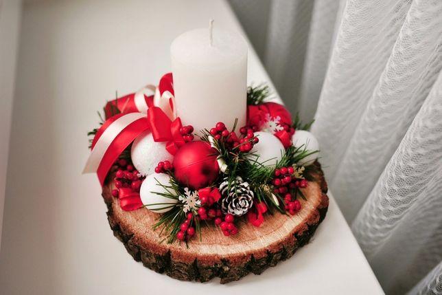 Подсвечники,новогодний декор, украшения