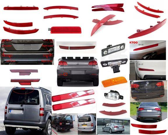 Катафот отражатель Jetta US/EU/Gli Octavia СС Tiguan Caddy CC VW стоп