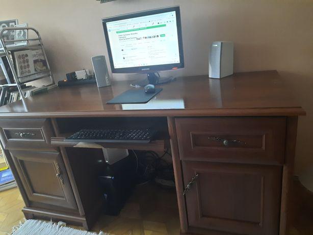 Sprzedam biurko kolor ciemnobrązowy