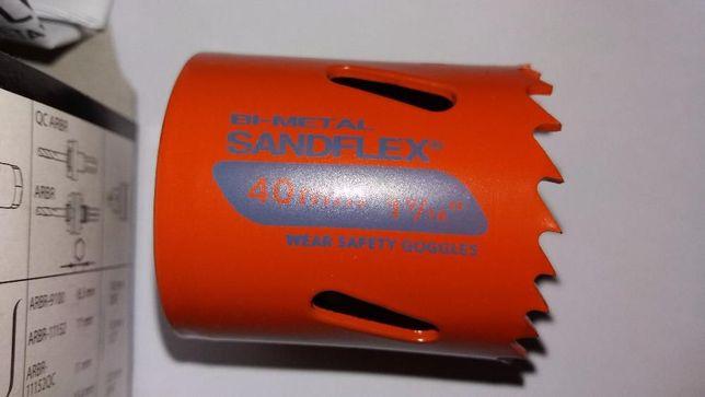 Fresa craneana bi-metalica Referência: 3830 Sandflex Medida 40 mm
