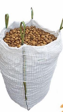 Worki Big Bag Bag 93/93/185 BIGBAG wentylowane Ziemniaki Cebula Kurier