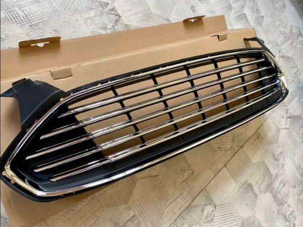 Решетка радиатора защита бампера Ford Fusion Mondeo фюжен ристалинг