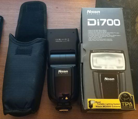 Фотовспышка Nissin DI700 for Canon (обмен на штатив)