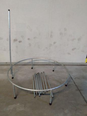 Trampolina na 6 nóżkach wys 120cm