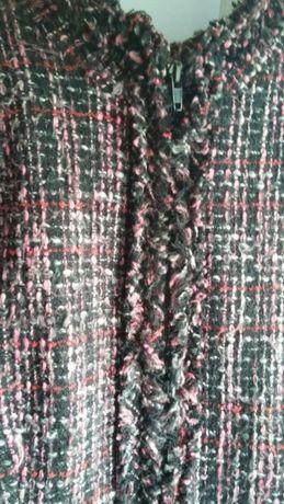 Kurteczka kurtka wiosenno jesienna materiałowa Orsay