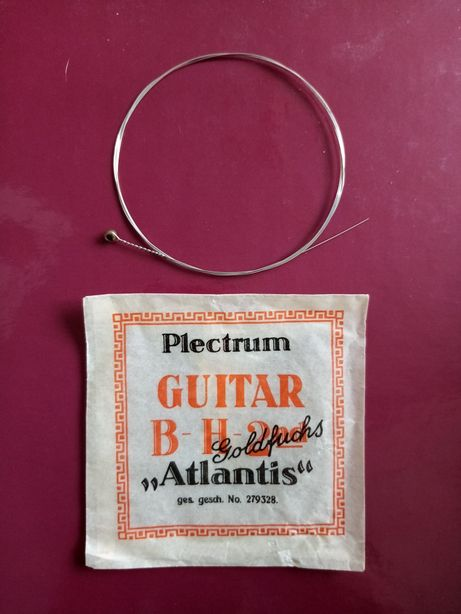 Struna Plectrum Guitar B H 2nd Goldfuchs Atlantis