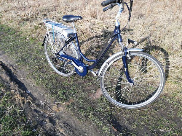 rower elektryczny o mocy 350 wat na 36 volt