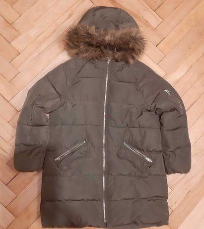 Płaszcz puchowy Zara r. 140