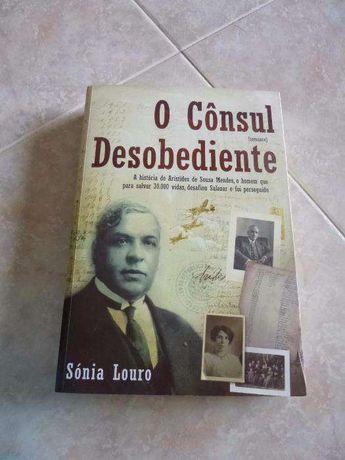 """Livro """"O Consul Desobediente"""""""