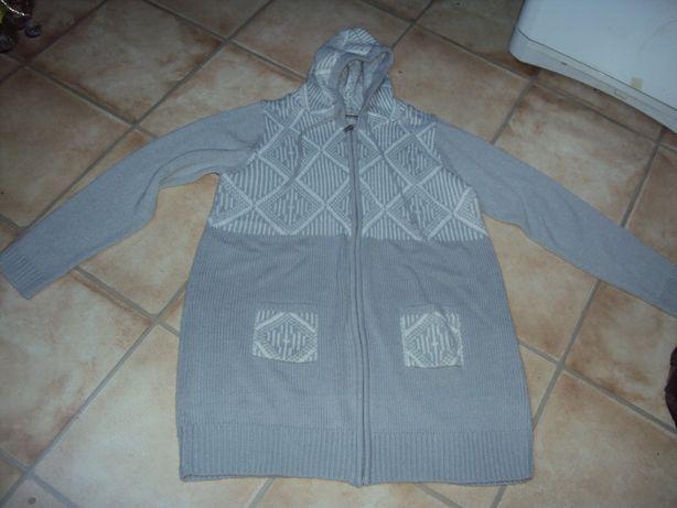 Sweter długi narzutka xxxl 44/46