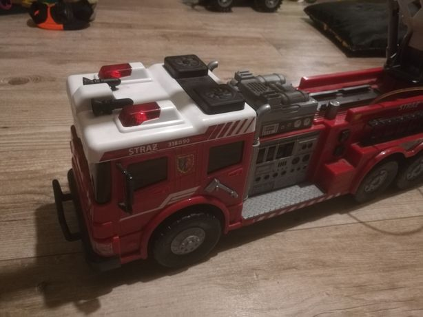 Wóz strażacki zabawkowy