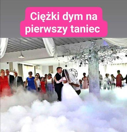 Taniec w chmurach, usługa-Ciężki dym na pierwszy taniec.