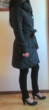 Płaszcz - Kurtka zimowa, ciepły, stan idealny Wyprzedaż!