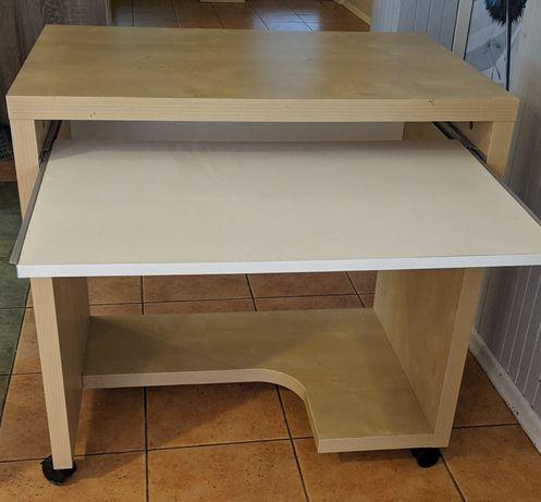 Biurko z wysuwaną półką