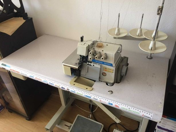 Máquina de costura Kingtex SH6004-A43-M14 corte e cose industrial