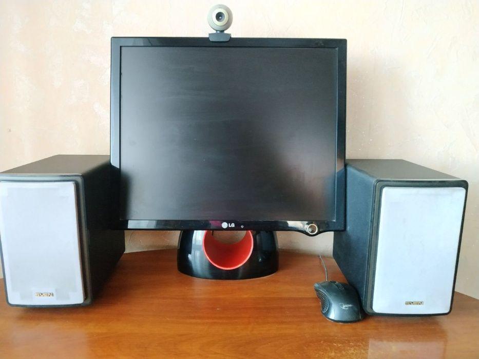 Продам компьютер и комплектующие к нему (системный блок, монитор, клав Доброполье - изображение 1